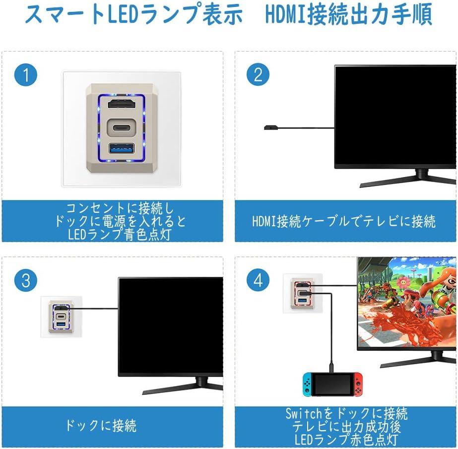 出力 スイッチ テレビ