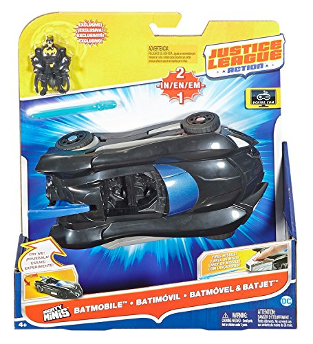 Free Comic Book Day Dubai: DC Comics Justice League Action Batmobile And Batjet