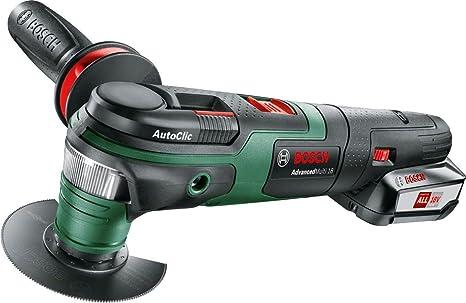 Bosch advancedmulti utensile multifunzione a batteria senza
