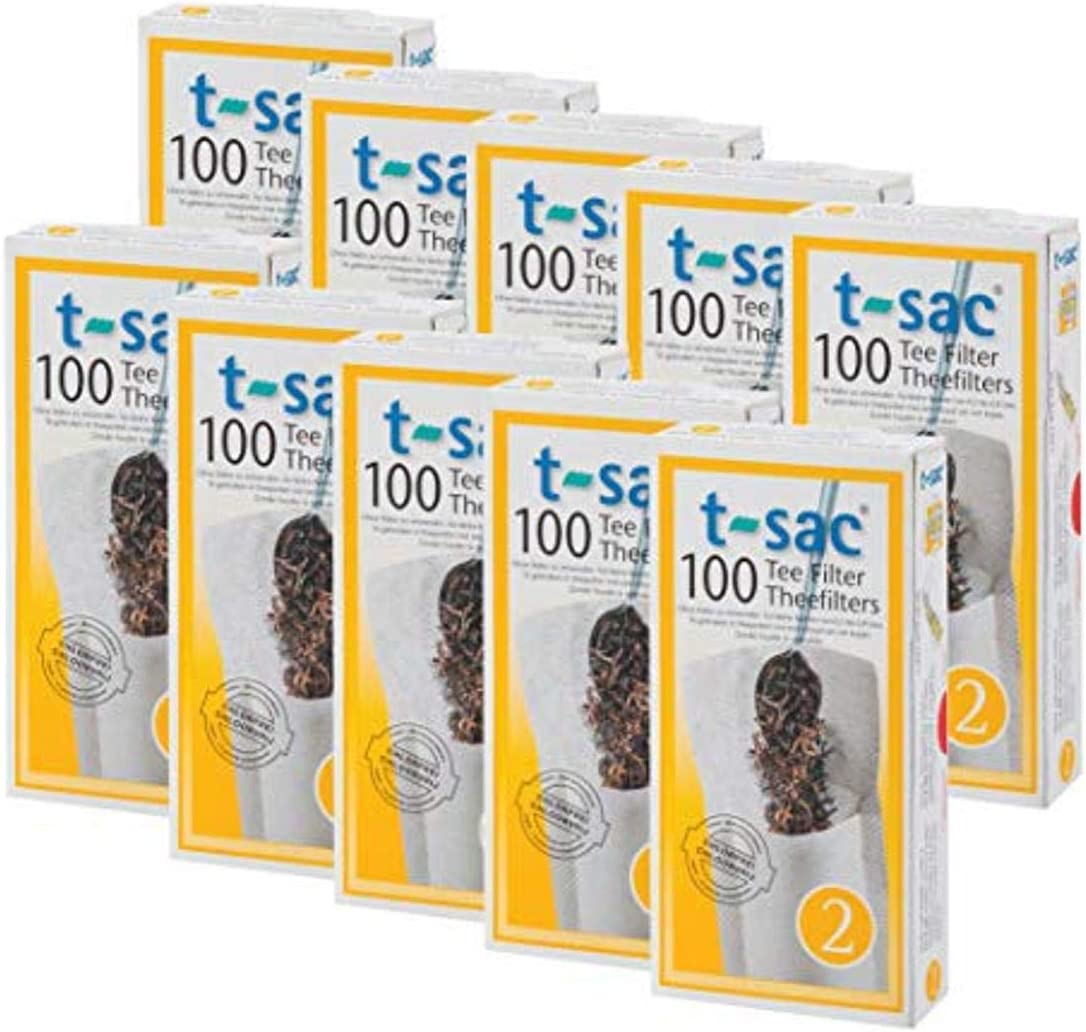 T-Sac Tea Filter Bags Disposable Infuser Animer and price revision Number 2 low-pricing 2-Size