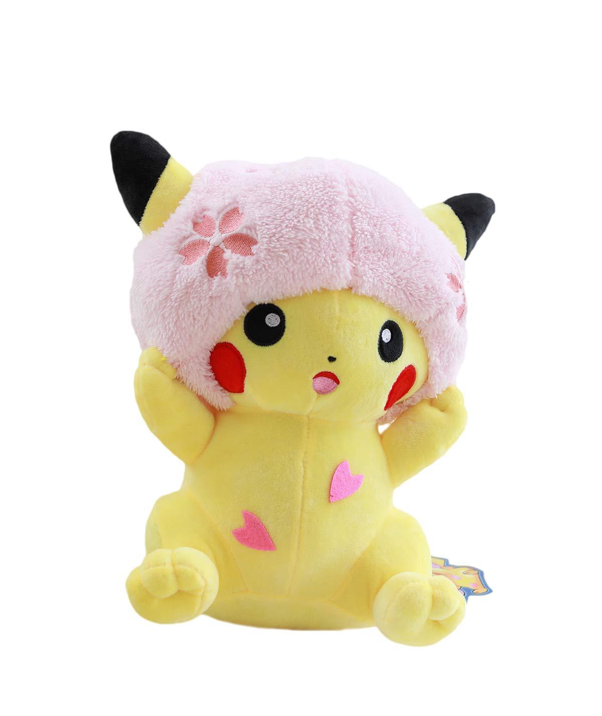 Straiver Detective Pikachu Plush Figure Stuffed Animal Toys Plush Doll 13.8'' by Stariver Store