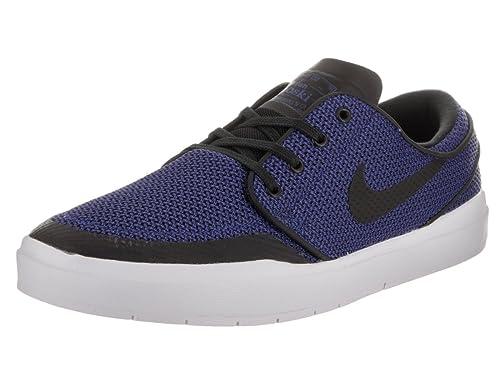 sports shoes bfb10 124cf Nike Men s Stefan Janoski Hyperfeel XT Deep Night Black Skate Shoe 10.5 Men  US  Amazon.in  Shoes   Handbags