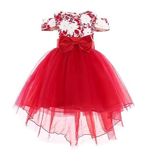 Familizo 2018 - Vestido de princesa para niña, diseño floral ...