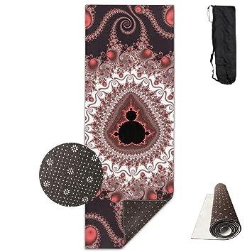 Vercxy Ocean - Esterilla de Yoga con diseño de Mandala de ...