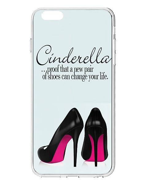 Amazon IPhone 60 Plus Case UKASE Cinderella Quotes Blue Case Fascinating Cinderella Quotes