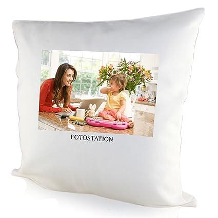 Personalised Photo Cushion Cover  Amazon.co.uk  Kitchen   Home 9a131da8bc84