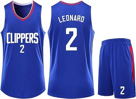 Camiseta de Baloncesto para Hombre NBA Clippers Kawhi Leonard # 2 ...