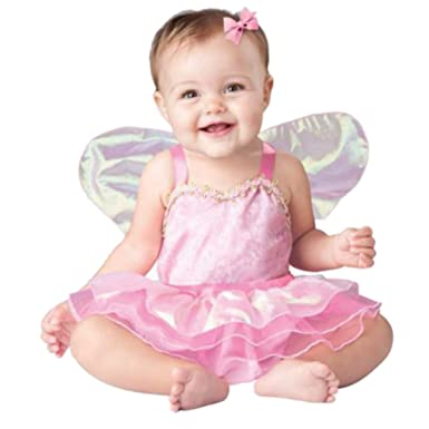 In-Character Infant Girls Pretty Pixie Costume Baby Pink Fairy Princess  sc 1 st  Amazon.com & Amazon.com: In-Character Infant Girls Pretty Pixie Costume Baby Pink ...