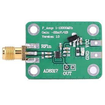 AD8317 Detector logarítmico Medidor de potencia de radiofrecuencia 1M-10000MHz