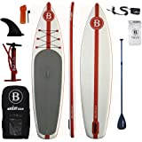 "Bright Blue Stand Up Paddle board 11'6"" Inflatable SUP"