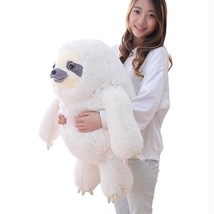 Amazon Com Winsterch Giant Sloth Stuffed Animal Plush Sloth Toy