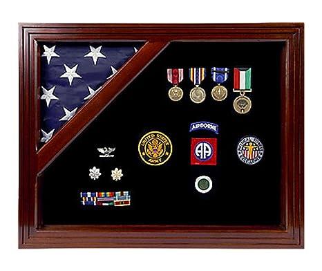 Amazon.com: Militar Premio Shadow Box Caso – De ...