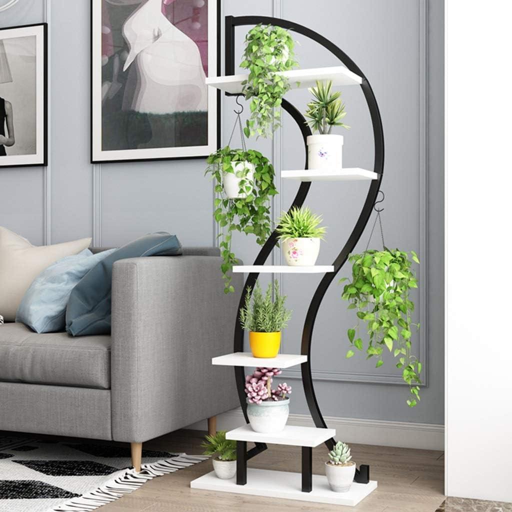 Soportes para plantas Jardinería Inicio Salón Flor Stand Rack ...