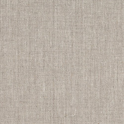 (Quality Linen 100% European Linen Fabric, Oatmeal )