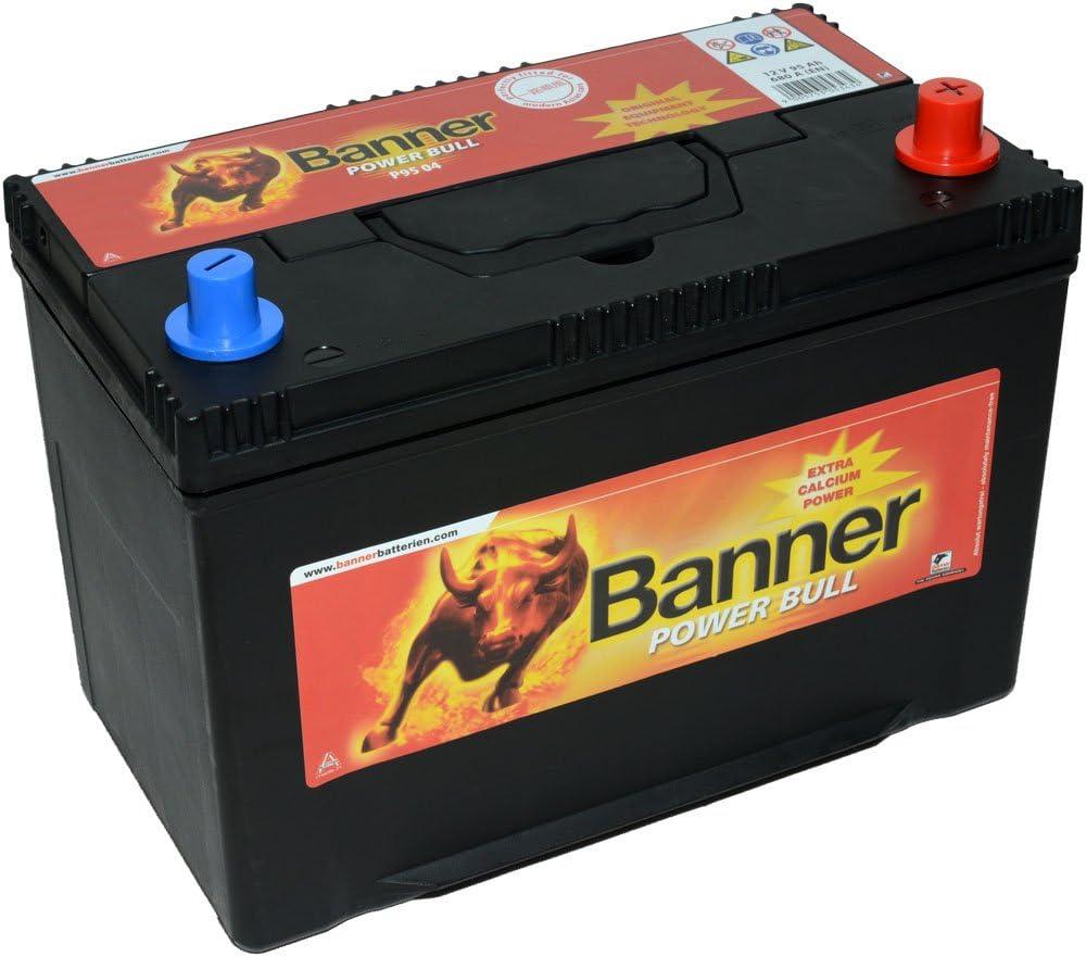 Banner P9504 Power Bull 249 Power Bull Kalzium Ölpest Nach Hinten Losgehen Geschützt Akku Auto
