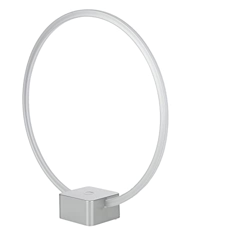Brightech Circle   Cool, Futuristic LED Lamp For Desk/Bedside, End Tables/