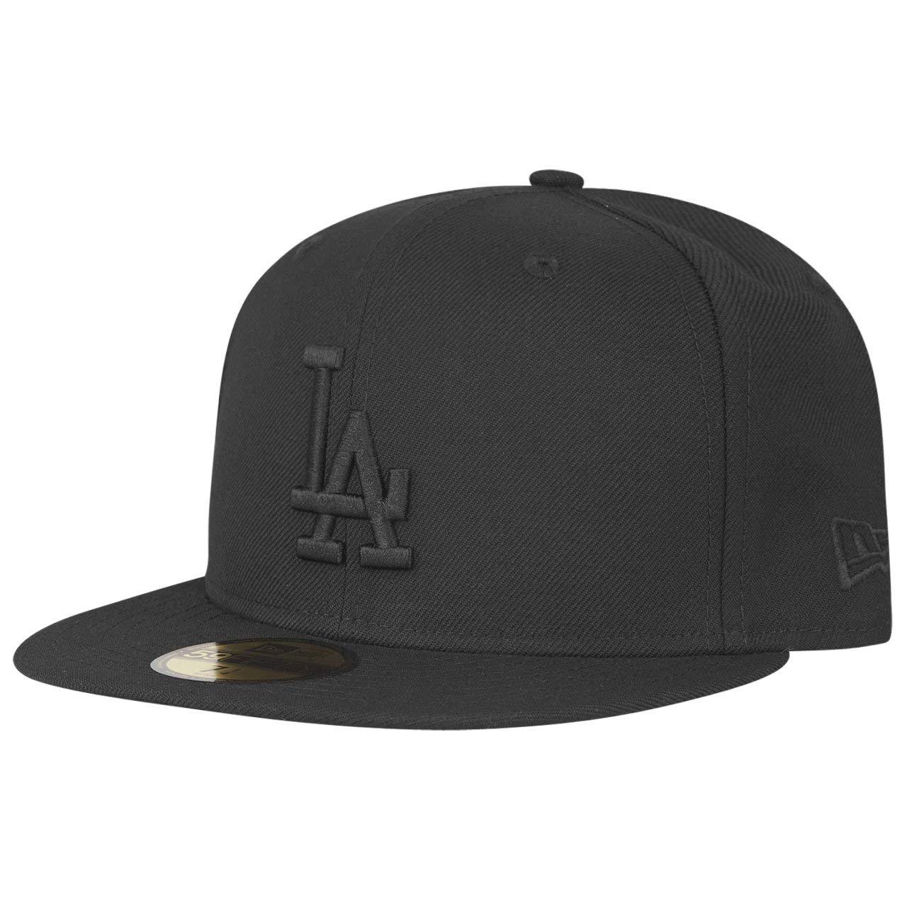 d11a8d9fd Amazon.com : New Era 59Fifty Los Angeles LA Dodgers Blackout Fitted ...