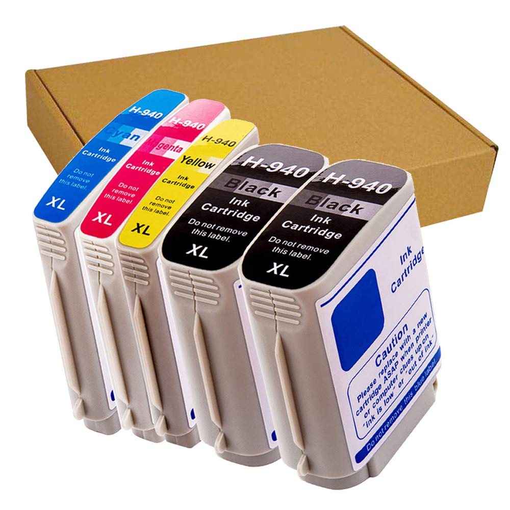 消費税無し GreenArk B07HRF67TB 交換用4パック HP 940 8500 HP 940XL 互換 8500A 大容量 インクカートリッジ 4色 インク タンク コンボパック HP Officejet Pro 8500 8000 8500A 8500A Plus プリンター対応 (1 BK 1C 1M 1Y) B07HRF67TB 5 pack 940XL ink Tanks(2BK 1C 1M 1Y), 自転車のQBEI:aa89e780 --- diceanalytics.pk
