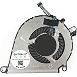 858970-001 NFB62A05H FSFA15M BAY Direct Replacement CPU Fan for HP Omen 15-AX 15-AX000 15-AX100 15-AX200 15-AX020CA 15-AX030TX 15-AX033DX 15-AX039NR 15-AX101TX15 15-AX200 Series Compatible P//N