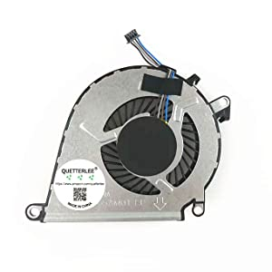 QUETTERLEE New for HP Omen 15-ax 15-ax000 15-AX030TX 15-AX020CA 15-AX039NR 15-AX252NR 15-AX253DX 15-ax100 15-ax200 15-BC013TX 15-BC015TX TPN-Q173 series CPU Cooling Fan NFB62A05H-FSFA15M 858970-001