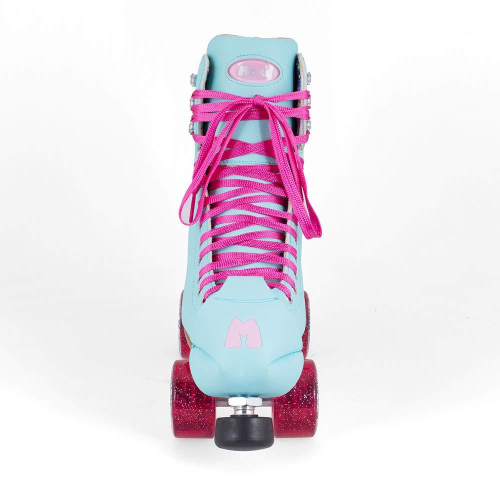 Moxi Skates - Beach Bunny - Fashionable Womens Roller Skates | Blue Sky | Size 2 by Moxi (Image #4)