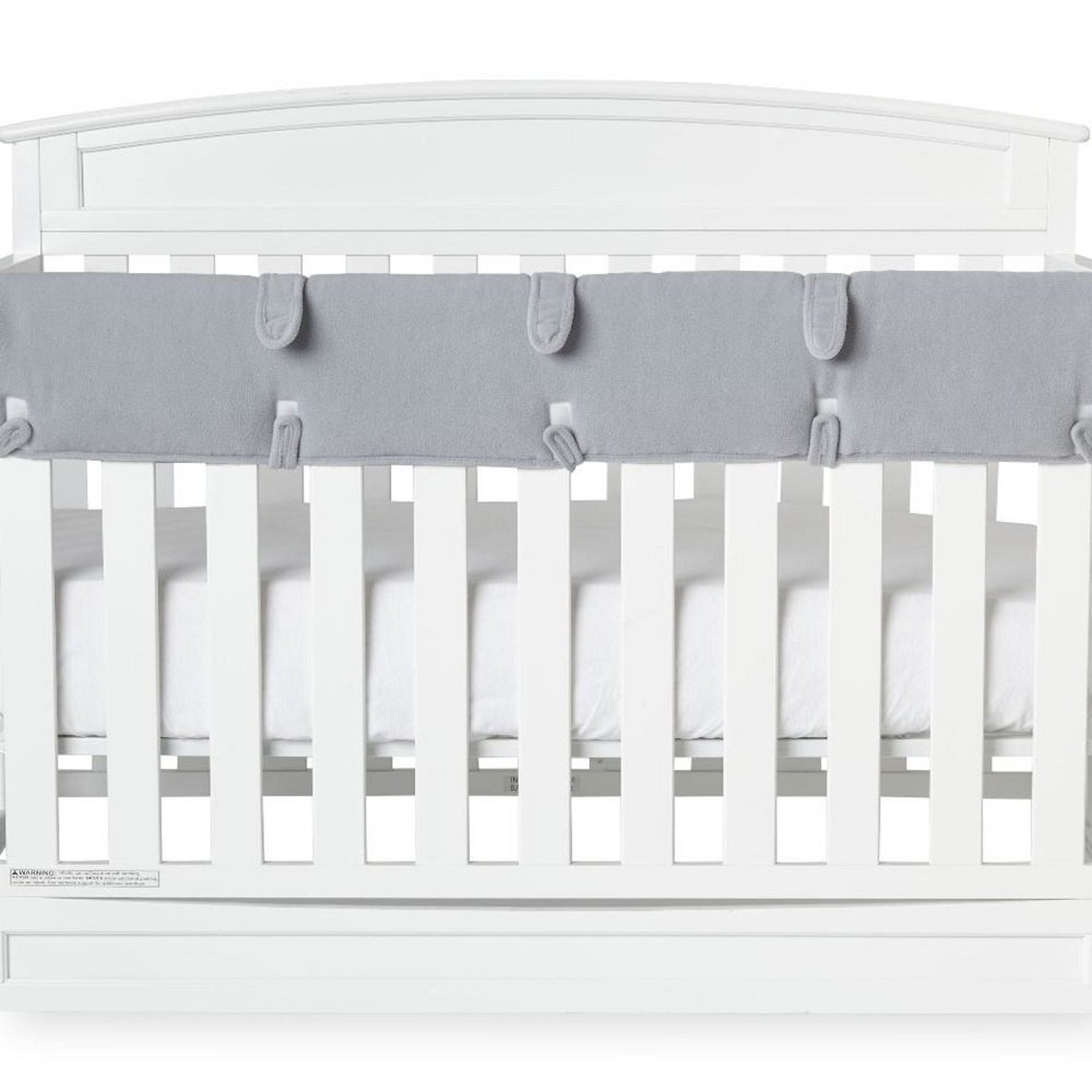 Babies R Us Soft Cloth Front Crib Rail Cover