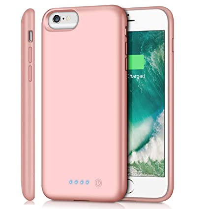 Amazon.com: Funda de batería para iPhone 6S Plus/6 Plus/7 ...