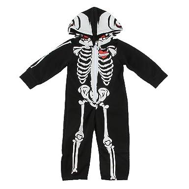 Christys Dress Up Ladies Black And Bone Skeleton Sleeveless Halloween Tank Top