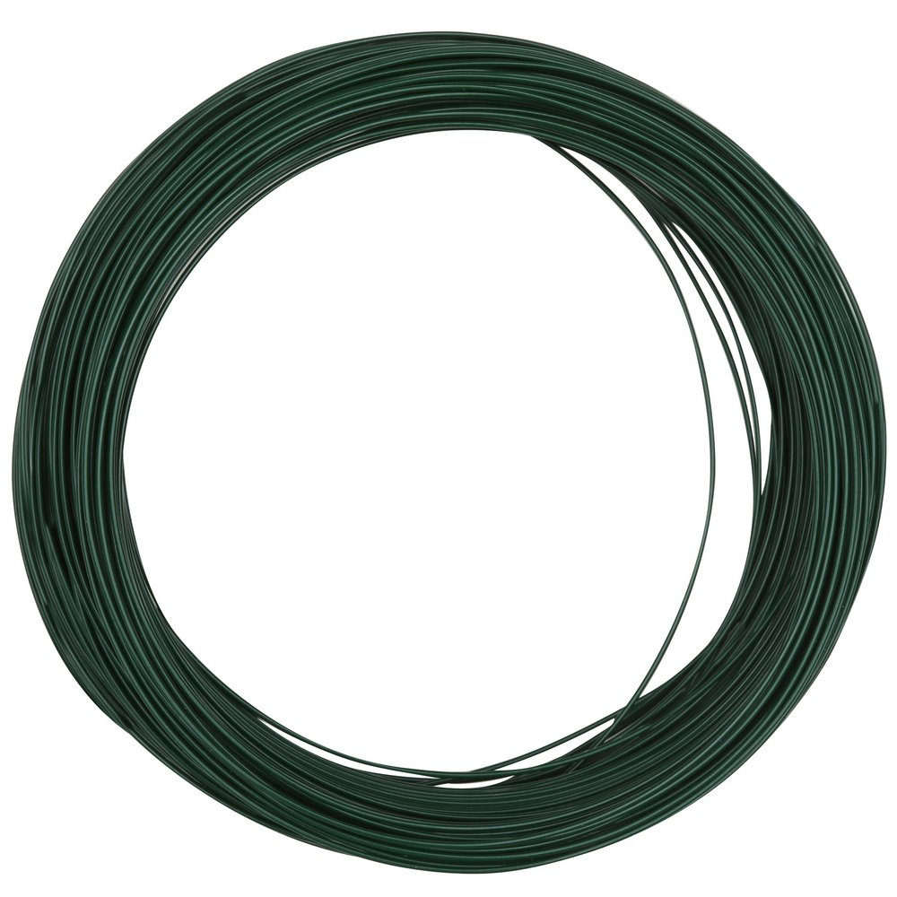 National Hardware N274-985 V2674 Floral Wire in Green, 24 Ga x 100 ...