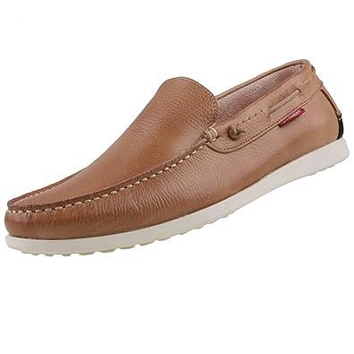 Dockers by Gerli - Mocasines de Piel para hombre beige Beige (530 Beige), color beige, talla 42 EU: Amazon.es: Zapatos y complementos
