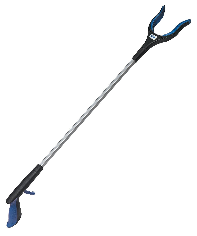 Ettore 34-Inch Grib'n Grab: Multi-Purpose Reach Tool with Rotating Rubber Grip Head