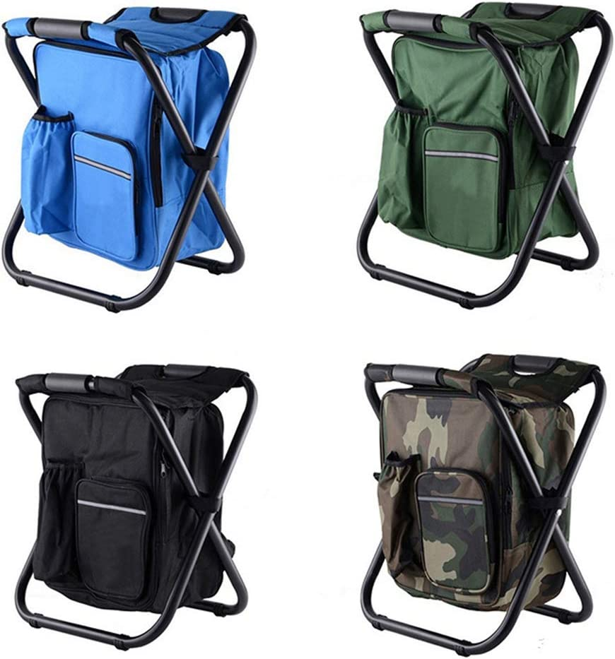 Folding Hunting Stool With Backpack Seat Fishing Best Stool Camouflage Chair