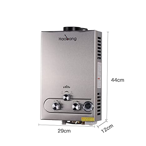 haobang Gas Tankless – Calentador de agua Tecnología patentada bajo lating jsd12 de S02 NG 2000