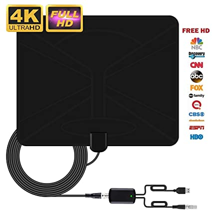 Tv Antenna Oittira Indoor Tv Antenna Super Long Range Access Freeview Indoor Digital Hdtv Antenna Build In Newest Techno With 1080p Vhf Uhf Fm
