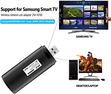 OB Samsung WIS12ABGN X Wireless Link Stick WiFi LAN USB Adapter Smart TV Wi-Fi