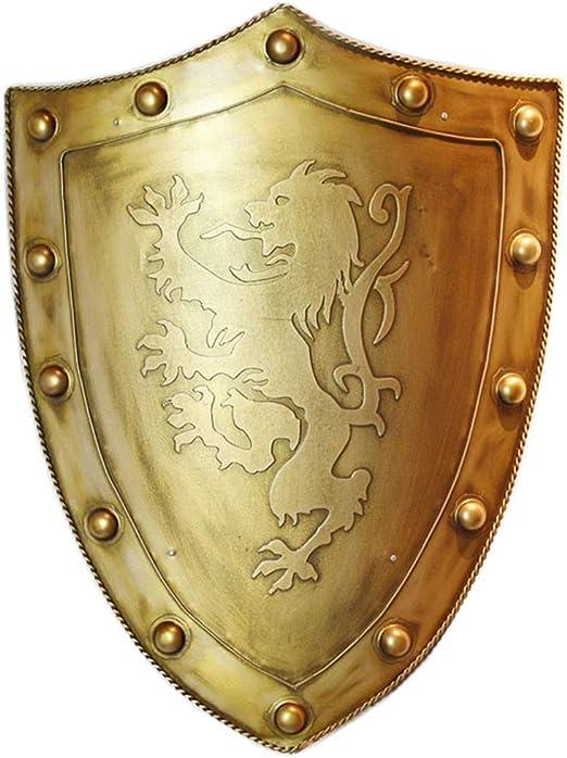 32/'/' LARGE europian handmade vintage medieval Antique Knight Shield Steel SCA