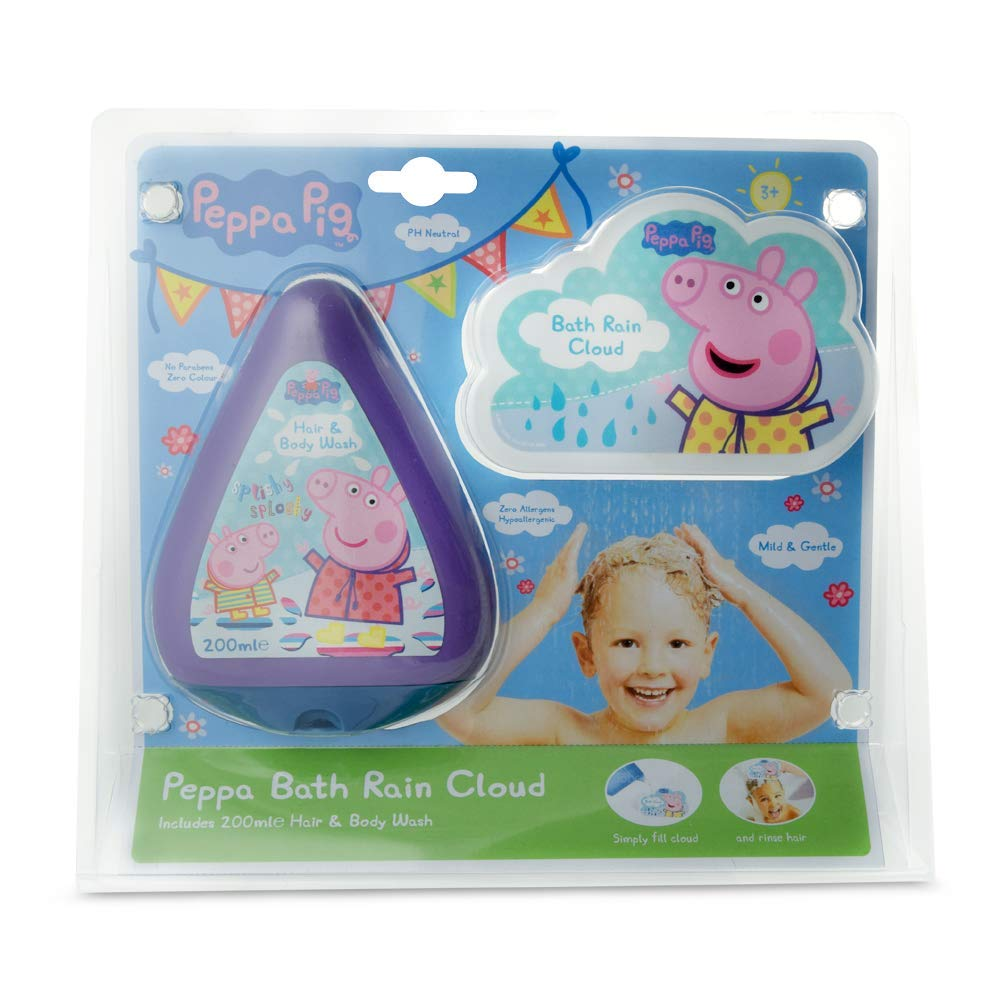 Peppa Pig Bath Rain Cloud Gift Set