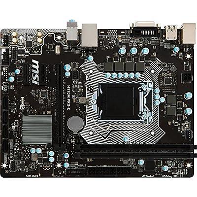 MSI Intel Skylake H110 LGA 1151 DDR4 USB 3.1 Mini ITX Motherboard (H110I Pro AC) from MSI Computer
