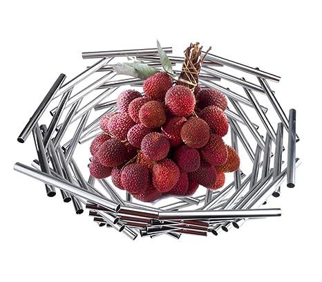 JXS Frutero, Estante de Cocina de Acero Inoxidable, Aspecto ...