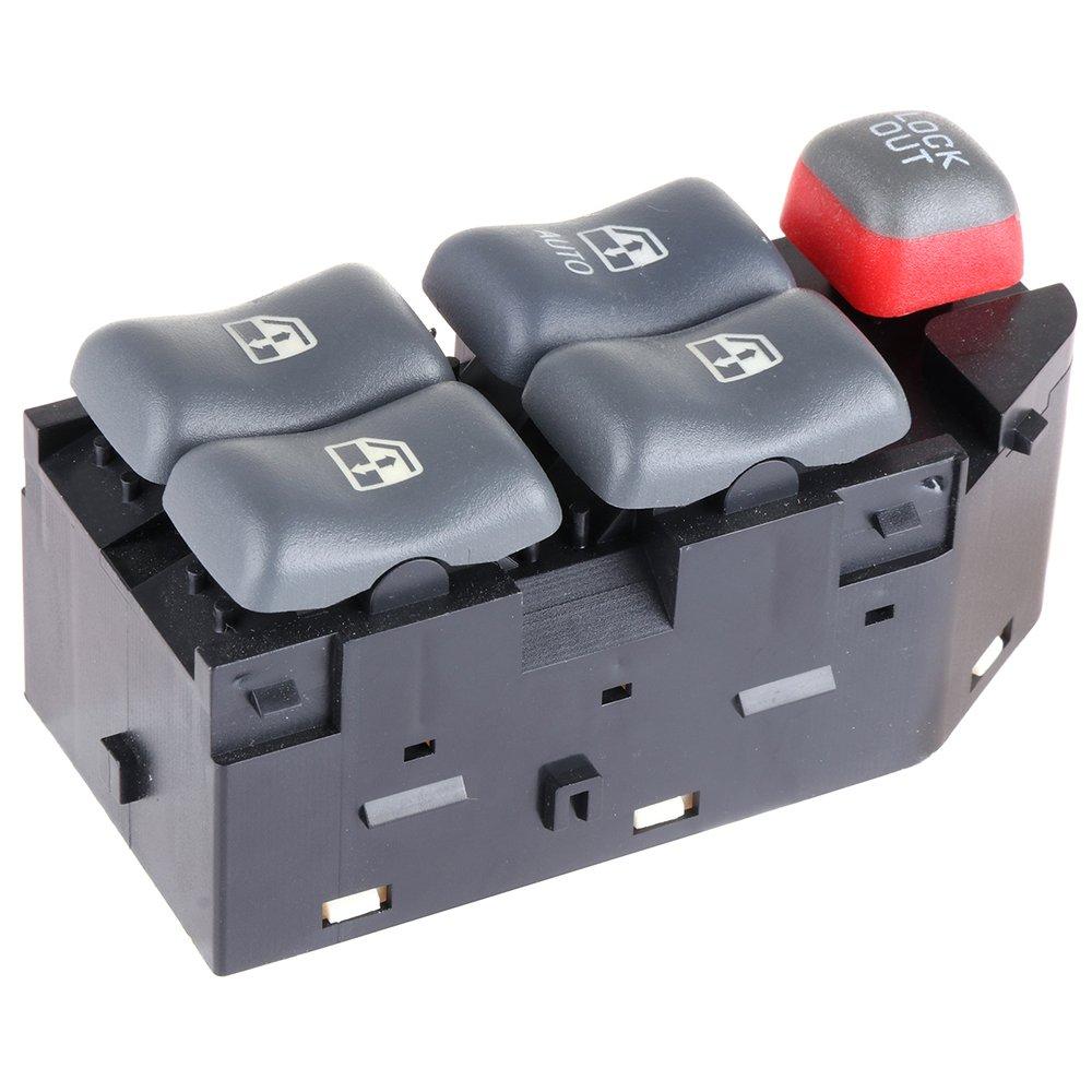 Power Window Switch Master Control Switch for 1997-1999 Pontiac Bonneville 1995-2005 Pontiac Sunfire 1997-2003 Pontiac Grand Prix 2000-2005 Chevy Cavalier 4-Door 10290244 19208647 22652691