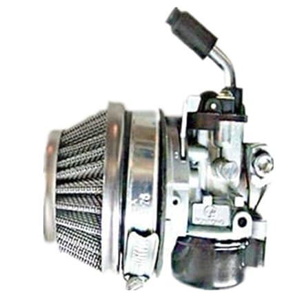 Qiankun 49cc 66cc 70cc 80cc 2 Stroke Engine Motorized Bicycle Bike Carb  Racin Carburetor (silver)