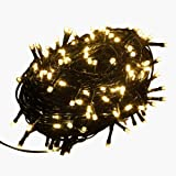 TianNorth® 30M 100FT 200 LED Lights Decorative Christmas Party Festival Twinkle String Home Tree (Warm white)