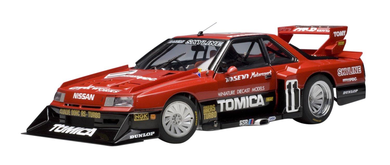 Amazon.com: Nissan Skyline RS Turbo Silhouette 1983 1/18 Autoart Diecast Car Model: Toys & Games