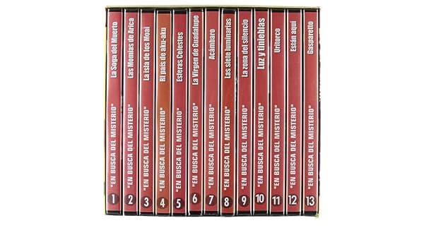 Pack En Busca Del Misterio (13 Dvd): Amazon.es: Varios: Cine y Series TV