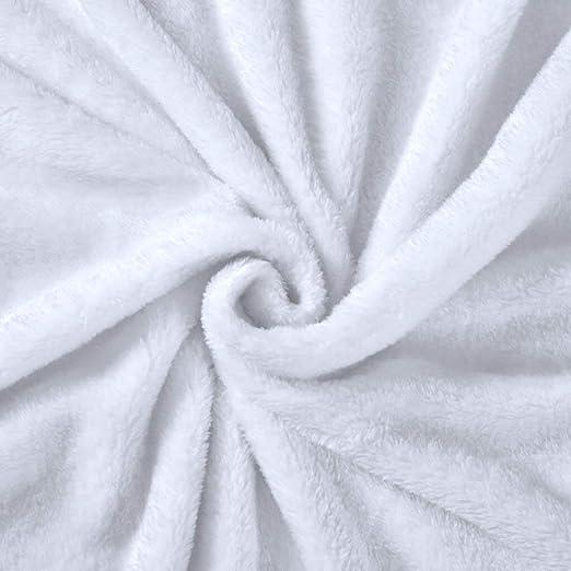 Amazon.com: Manta de bebé con diseño de millas y forro polar ...