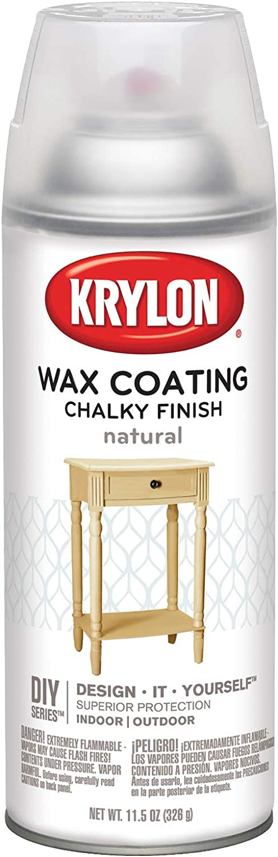 Krylon CHK-4118 Chalky Finish Aerosol Spray Paint, 11.5 oz, Natural