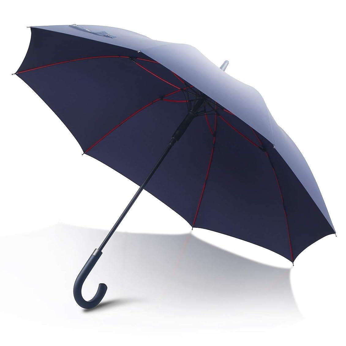 トラック糸統治するmacocca(マコッカ) 完全遮光 遮光率100% UVカット率100% 超撥水 耐風骨 晴雨兼用傘 大きめ 55cm 折りたたみ傘 makez. マケズ