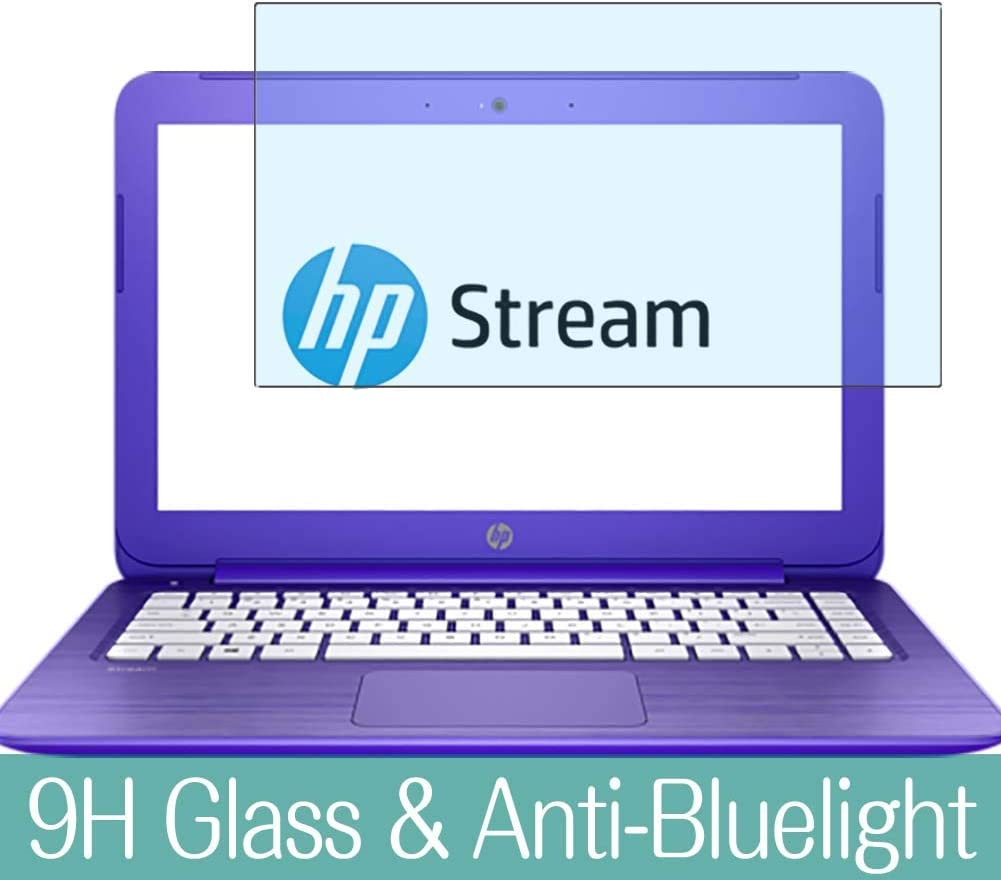 """Synvy Anti Blue Light Tempered Glass Screen Protector for HP Stream 13-c100 / c110nr / c100na / c120nr / c101na / c110ca / c193nr / c100ne 13.3"""" Visible Area Screen Film Protectors"""