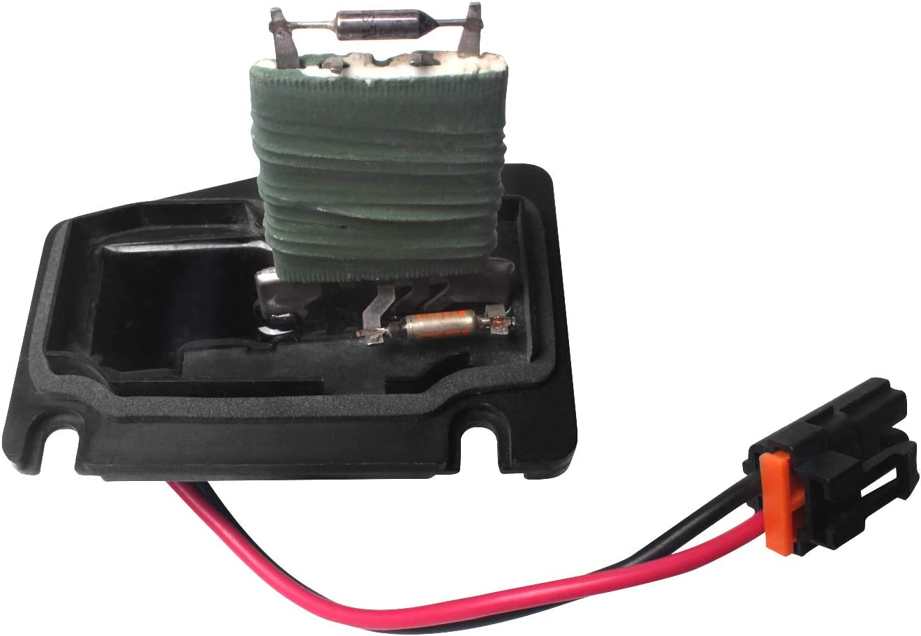 973-408 Beneges HVAC Blower Motor Fan Resistor with Wire Harness Compatible with 1997-2005 Chevy Corvette Impala Monte Carlo Oldsmobile Pontiac Buick 89019101
