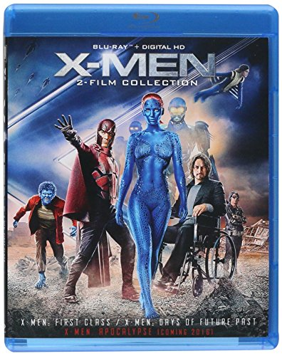 X-men: First Class / Days of Future Past Double Feature Blu-ray Icons